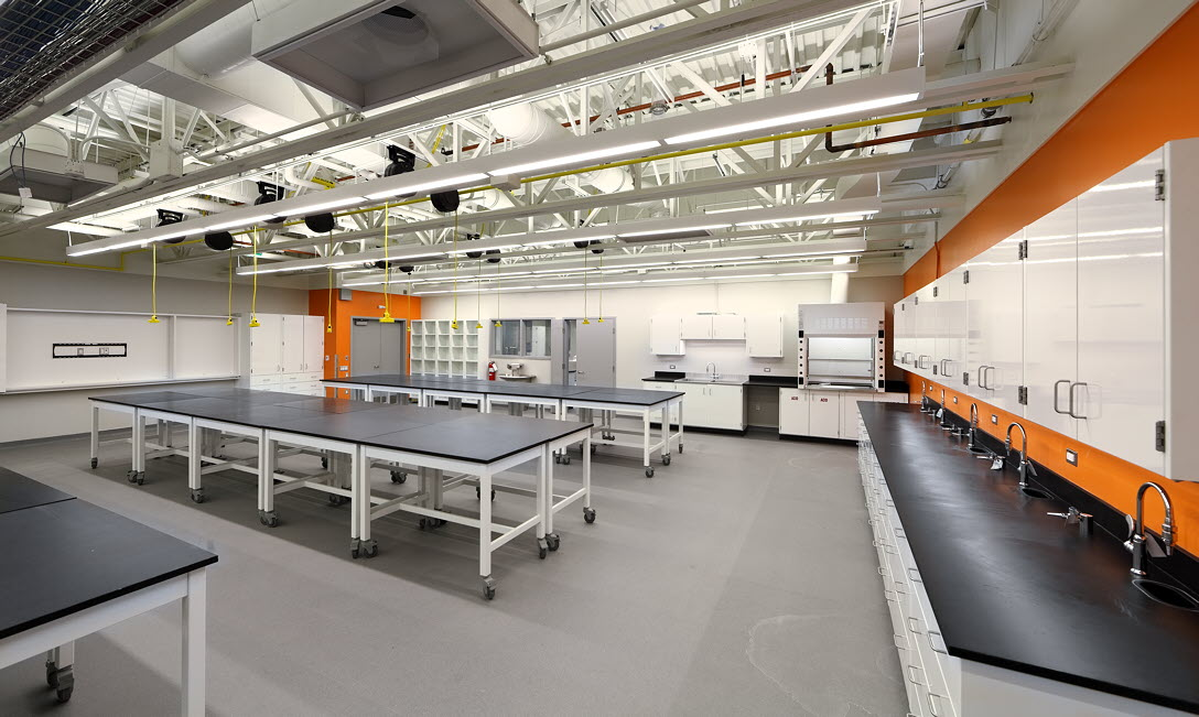 Science laboratory consolidation nxl architects for Lab architects